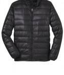 Port Authority J323 Down Jacket Black Flat