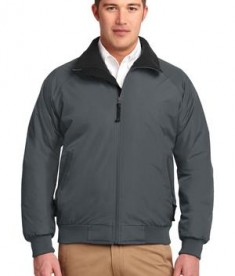 Port Authority J754 Challneger Jacket Steel Grey/True Black