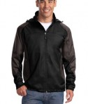 Port Authority J768 Endeavor Jacket Black/Gunmetal