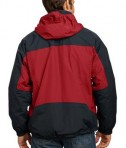 Port Authority J792 Nootka Jacket Engine Red Black Back