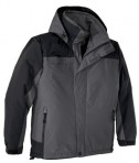 Port Authority J792 Nootka Jacket Graphite Black Flat