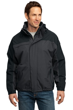 Port Authority J792 Nootka Jacket Graphite Black