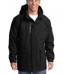 Port Authority J799 Heavyweight Parka Black
