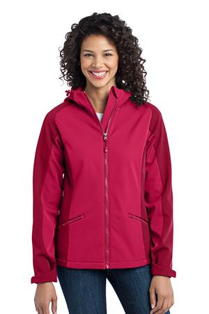Port Authority Ladies Gradient Hooded Soft Shell Jacket Style L312*