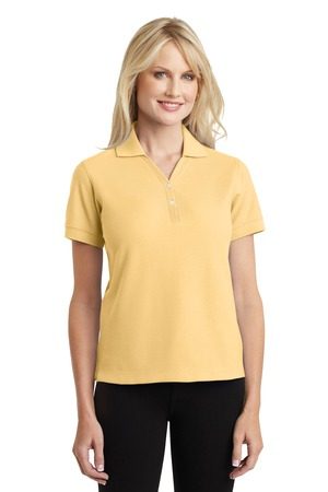 Port Authority Ladies 100% Pima Cotton Polo Style L448 1