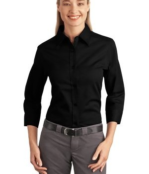 Port Authority Ladies 3/4-Sleeve Easy Care Shirt Style L612 1