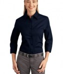 Port Authority Ladies 3/4-Sleeve Easy Care Shirt Style L612
