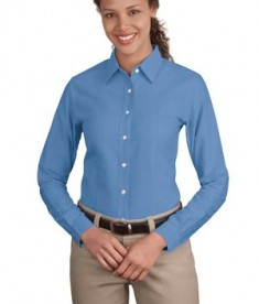 Port Authority Ladies Classic Oxford Style L606