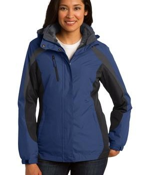 Port Authority Ladies Colorblock 3-in-1 Jacket Style L321 1