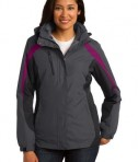 Port Authority Ladies Colorblock 3-in-1 Jacket Style L321