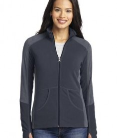 Port Authority Ladies Colorblock Microfleece Jacket Style L230
