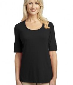 Port Authority Ladies Concept Scoop Neck Shirt Style L541