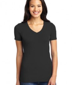 Port Authority Ladies Concept Stretch V-Neck Tee Style LM1005