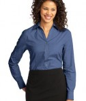 Port Authority Ladies Crosshatch Easy Care Shirt Style L640