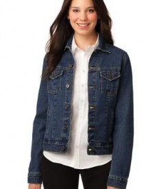Port Authority Ladies Denim Jacket Style L7620