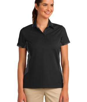 Port Authority Ladies Dry Zone Colorblock Ottoman Polo Style L524 1