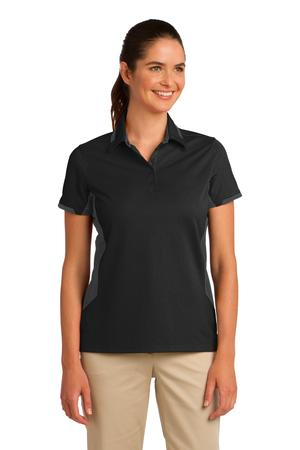 Port Authority Ladies Dry Zone Colorblock Ottoman Polo Style L524