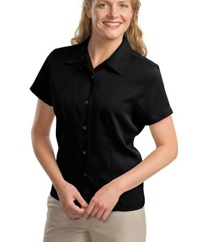 Port Authority Ladies Easy Care Camp Shirt Style L535 1
