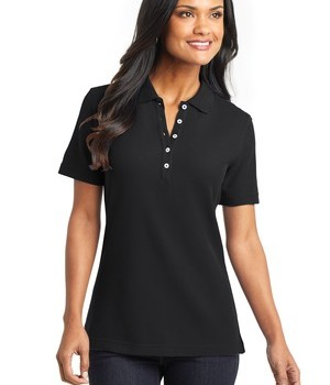 Port Authority Ladies EZCotton Pique Polo Style L800 1