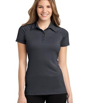 Port Authority Ladies Fine Stripe Performance Polo Style L558 1