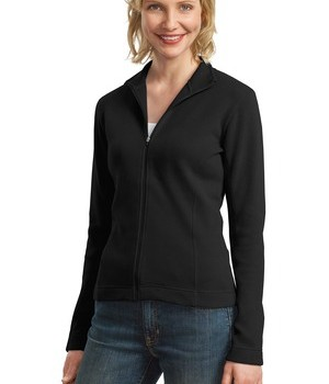 Port Authority Ladies Flatback Rib Full-Zip Jacket Style L221 1