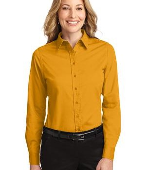 Port Authority Ladies Long Sleeve Easy Care Shirt Style L608 1