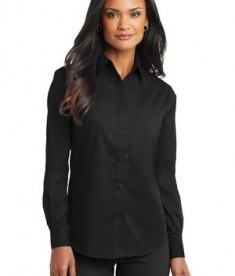 Port Authority Ladies Long Sleeve Value Poplin Shirt Style L632