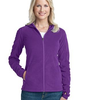 Port Authority Ladies Microfleece Hoodie Style L225 1