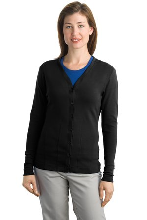 Port Authority Ladies Modern Stretch Cotton Cardigan Style L515