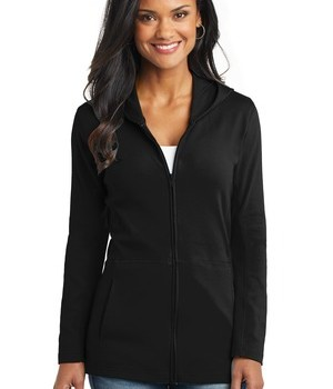 Port Authority Ladies Modern Stretch Cotton Full-Zip Jacket Style L519 1