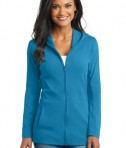 Port Authority Ladies Modern Stretch Cotton Full-Zip Jacket Style L519