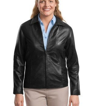Port Authority Ladies Park Avenue Lambskin Jacket Style L785 1