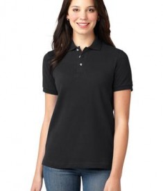 Port Authority Ladies Pique Knit Polo Style L420