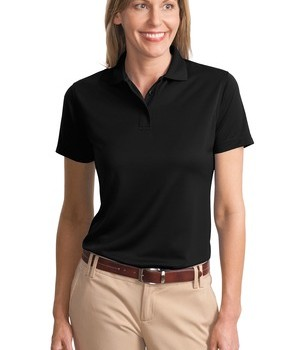 Port Authority Ladies Poly-Bamboo Charcoal Blend Pique Polo Style L497 1