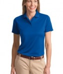 Port Authority Ladies Poly-Bamboo Charcoal Blend Pique Polo Style L497