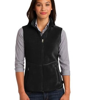 Port Authority Ladies R-Tek Pro Fleece Full-Zip Vest Style L228 1