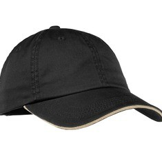 Port Authority Ladies Sandwich Bill Cap with Striped Closure Style LC830