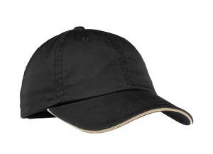 Port Authority Ladies Sandwich Bill Cap with Striped Closure Style LC830 1