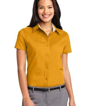 Port Authority Ladies Short Sleeve Easy Care  Shirt Style L508 1