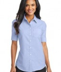 Port Authority Ladies Short Sleeve SuperPro Oxford Shirt Style L659