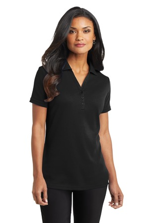 Port Authority Ladies Silk Touch Interlock Polo Style L520