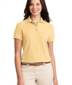 Port Authority Ladies Silk Touch Polo Style L500