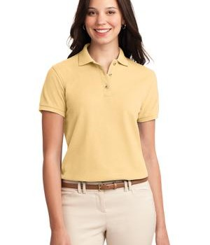 Port Authority Ladies Silk Touch Polo Style L500 1