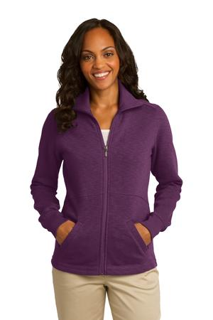 Port Authority Ladies Slub Fleece Full-Zip Jacket Style L293