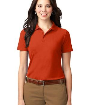 Port Authority Ladies Stain-Resistant Polo Style L510 1