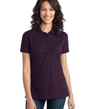 Port Authority Ladies Stretch Pique Polo Style L555 1