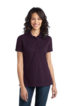 Port Authority Ladies Stretch Pique Polo Style L555