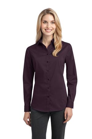 Port Authority Ladies Stretch Poplin Shirt Style L646