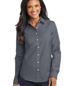 Port Authority Ladies SuperPro Oxford Shirt Style L658