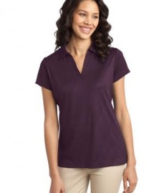 Port Authority Ladies Tech Embossed Polo Style L548